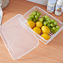 cheap Jars & Boxes-1pc Food Storage Plastic Easy to Use Kitchen Organization