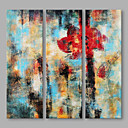 cheap Chandeliers-Oil Painting Hand Painted - Abstract Artistic Canvas