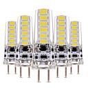 olcso Torta díszek-YWXLIGHT® 5pcs 4 W 300-400 lm LED betűzős izzók T 12 led SMD 5730 Tompítható Dekoratív Meleg fehér Hideg fehér AC 12V DC 12-24 V