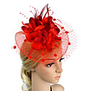 cheap Latin Shoes-Plastic Fascinators / Flowers with 1 Wedding / Special Occasion / Party / Evening Headpiece