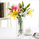 cheap Prints-Artificial Flowers 5 Branch European Lilies Tabletop Flower