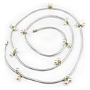 preiswerte Modische Halsketten-Damen Kleid-Gurt, Künstliche Perle / Strass / Aleación Kette - Glänzend Matallic Solide / PU