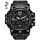 cheap Artificial Flower-SMAEL Men's Sport Watch Military Watch Digital Watch Japanese Digital 50 m Water Resistant / Water Proof Calendar / date / day Chronograph PU Silicone Band Analog-Digital Casual Fashion Black / Red