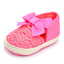 cheap Boys' Shoes-Girls' Shoes Fabric Spring / Fall Comfort Flats Bowknot for Fuchsia / Wedding / Party & Evening
