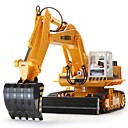 cheap RC Cars-RC Car HUINA 680 11 Channel 2.4G Excavator 1:10 Brush Electric KM/H Remote Control / RC / Rechargeable / Electric