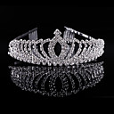 cheap Party Headpieces-Crystal / Rhinestone / Alloy Tiaras / Headwear with Floral 1pc Wedding / Special Occasion / Party / Evening Headpiece