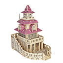 cheap Models & Model Kits-3D Puzzle Jigsaw Puzzle Wood Model Model Building Kit Famous buildings Furniture House Simulation DIY Wood Classic Kid's Unisex Gift