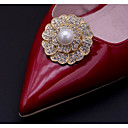 cheap Shoes Accessories-2pcs Alloy Decorative Accent Women's Summer Wedding Casual Vacation Gold Silver