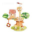 cheap 3D Puzzles-3D Puzzle Jigsaw Puzzle Model Building Kit Famous buildings House DIY Hard Card Paper Classic Anime Cartoon Kid's Unisex Gift