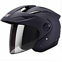 baratos Capacetes e Máscaras-Meio Capacete Forma Assenta Compacto Respirável Melhor qualidade Esportivo ABS capacetes para motociclistas
