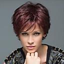 olcso Jelmez paróka-Emberi hajszelet nélküli parókák Emberi haj Egyenes / Klasszikus Géppel készített Paróka Napi
