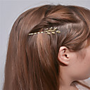 cheap Car Emergency Tools-Europe and the United States foreign trade fashion simple hair accessories Personality joker hair clips Leaf edge hairpin A0307-0308