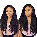 baratos Tranças de Cabelo-Dreads Falsos Entrelaçados Falsos Deads Extensões Dreadlock 100% cabelo kanekalon Dreadlocks / Faux Locs Extensões de Cabelo Natural
