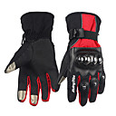 cheap Motorcycle Gloves-Full Finger Unisex Motorcycle Gloves Velvet Chiffon Carbon Fiber Keep Warm Waterproof