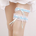 cheap Cake Toppers-Elastic Leg Warmers Party Sexy Wedding Wedding Garter with Rhinestone Garters