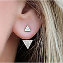 cheap Earrings-Women's Stud Earrings - Fashion Gold / Silver For Daily