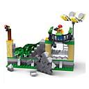 olcso Mágneses Building szettek-Építőkockák Tyrannosaurus Dinoszaurus DIY Klasszikus Fiú Lány Játékok Ajándék