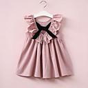 hesapli Yazma-Kız Pamuklu Kırk Yama Yaz Kolsuz Elbise