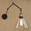 baratos Ferramentas, Limpeza e Lubrificantes-Simples / Vintage / Retro Swing Arm Lights Metal Luz de parede 110-120V / 220-240V 40 W / E26 / E27