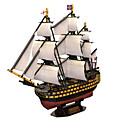 abordables Puzles 3D-Puzzles 3D Puzzle Buque de guerra Barco Madera Natural Unisex Regalo