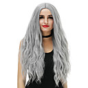 cheap Synthetic Capless Wigs-Synthetic Wig Women's Loose Wave Blue Synthetic Hair Blue / Blonde / Pink Wig Long Capless Rose / Green Silver Purple Gold Pink / Brown / Gray