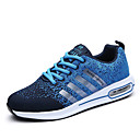 cheap Men's Athletic Shoes-Men's Mesh Fall / Winter Comfort Athletic Shoes Running Shoes Gray / Red / Blue