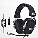 זול Headsets & Headphones-ajazz-ax300 רצועת ראש חוטי אוזניות דִינָמִי Aluminum Alloy / בד / פלסטי גיימינג אֹזְנִיָה נוחות ארגונומית - התאמה / עם בקרת עוצמת הקול /