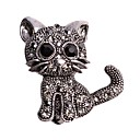 cheap Brooches-Women's Brooches - Cat, Animal Brooch Black For Wedding / Casual / Evening Party