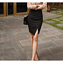 cheap Body Jewelry-Women's Going out Street chic Bodycon Skirts - Solid Colored / Slim