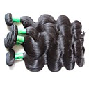 זול תוספות שיער בגוון טבעי-שיער בתולי Body Wave 1000 g 12 חודשים יומי
