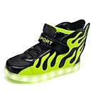 cheap LED Candle Lights-Boys' Shoes Knit / Paillette / Synthetic Spring & Summer Light Soles / Light Up Shoes Sneakers Walking Shoes Sequin / Magic Tape for