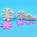 cheap Artificial Flower-Bakeware tools Plastics Everyday Use Cake Molds 1set