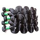 זול פיאות תחרה משיער אנושי-שיער בתולי קלאסי 500 g 12 חודשים יומי