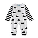 cheap Baby Boys' One-Piece-Baby Boys' Print Long Sleeve Cotton Overall & Jumpsuit / Toddler