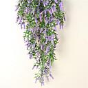 baratos Flor artificiali-Flores artificiais 1 Ramo Pastoril Estilo Lavanda Guirlandas & Flor de Parede
