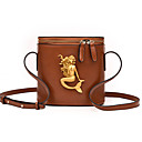 cheap Shoulder Bags-Women's Bags PU Crossbody Bag for Wedding / Event / Party / Formal Red / Gray / Brown