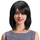 billige Syntetiske parykker uten hette-Human Hair Capless Parykker Ekte hår Klassisk / Naturlige bølger Maskinprodusert Parykk Daglig