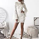 baratos Sapatos de Noiva-Mulheres Delgado Calças - Sólido Branco, Com Corte Branco / Mini / Bandagem