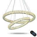 cheap Science & Exploration Sets-Chic & Modern Chandelier Ambient Light - Crystal / Adjustable / Dimmable, 110-120V / 220-240V, Dimmable With Remote Control, LED Light