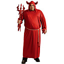 abordables Traje de Halloween-Parca Disfrace de Cosplay Hombre Unisex Halloween Carnaval Dia de los Muertos Festival / Celebración Disfraces de Halloween Rojo Cosecha