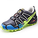 cheap Men's Athletic Shoes-Men's PU(Polyurethane) Spring / Fall Comfort Athletic Shoes Walking Shoes Black / Gray / Royal Blue