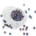 olcso Nail Glitter-1 pcs Csillogás Köröm DIY eszközök Körömékszerek Szeretetreméltő / 3D köröm művészet manikűr Pedikűr Napi Glitters / Művészi / Kerek / Köröm ékszer