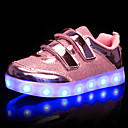 cheap Girls' Shoes-Girls' Shoes Synthetic Fall / Winter Light Up Shoes Sneakers LED for Gold / Silver / Pink / Wedding