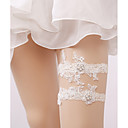 cheap Wedding Garters-Lace Wedding Wedding Garter With Imitation Pearl / Floral Garters