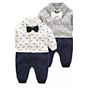 cheap Baby Boys' Clothing Sets-Baby Boys' Solid Colored Floral / Botanical Fashion One-Pieces