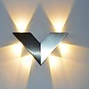 baratos Pia de Lavabo-o triângulo moderno 6w conduziu o corredor interno do sconce da parede acima da iluminação decorativa de alumínio clara da luz do ponto
