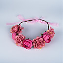 cheap Party Headpieces-Fabric Flowers / Headwear with Floral 1pc Wedding / Special Occasion / Anniversary Headpiece