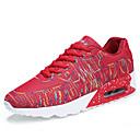 cheap Men's Oxfords-Men's Light Soles Tulle / PU(Polyurethane) Spring / Summer Comfort Athletic Shoes White / Black / Red