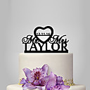 cheap Cake Toppers-Cake Topper Classic Theme / Wedding Plastic Wedding / Anniversary with 1 pcs Poly Bag