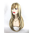 cheap Costume Wigs-Synthetic Wig Wavy Synthetic Hair Brown Wig Short / Long Capless